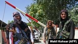 Milițiile Taliban controlează centrul capitalei afgane, Kabul pe care au cucerit-o duminică, Afganistan, 16 august 2021.