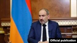 Armenian Prime Minister Nikol Pashinian