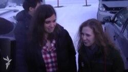 Pussy Riot: сустрэча ў Краснаярску