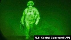 خروج آخرین نیروی امریکایی از افغانستان