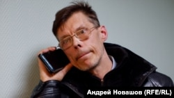 Юрий Галле после задержания на акции 21 апреля