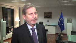 În direct de la Bruxelles: comisarul european Johannes Hahn