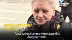 """""""Мы лежали, и я думала: только бы доехать"""": очевидец рассказал о взрыве в метро Санкт-Петербурга"""