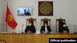 Онлайн-заседание Нарынского областного суда. 21 июля 2020 года.