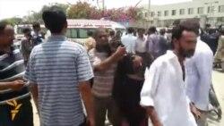 Karaçi: Awtobusda 43 adam gyryldy