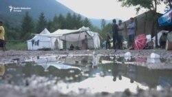 Migranti na Vučjaku: Mi smo ljudi ne životinje