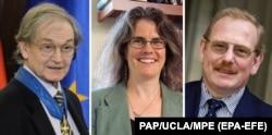 Роджер Пенроуз, Андреа Гез и Райнхард Гензель