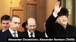 Владимир Путин – преемник Бориса Ельцина. 31 декабря 1999 года