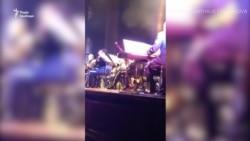 На концерті в Одесі американський військовий оркестр «зміксував» гімни України та США