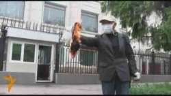 Правозащитник сжег отчет Кильюнена