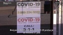 Novi rekordni brojevi zaraženih korona virusom