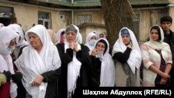 Церемония прощания с Фотимой Гулямовой