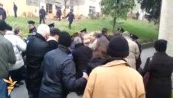 Protest radnika tvornice Aida