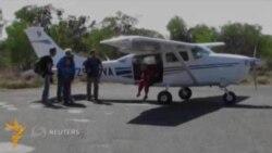 Жанубий африкалик кампир 100 ëшини парашютда сакраб нишонлади