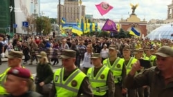 «Українцям не все одно» – білорус на Марші нескорених у Києві (відео)