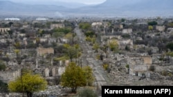 Uzun müddət Ermənistan silahlı birləşmələrinin işğalında qalan Ağdam şəhəri, 19 noyabr 2020
