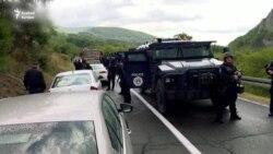 A koszovói különleges erők cserélik le a szerb rendszámtáblákat