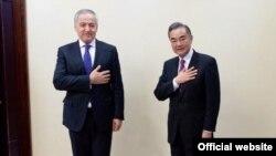 Сироджиддин Мухриддин и Ван И. Москва, 10 сентября 2020 года