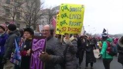В крупнейших американских городах прошел третий «Женский марш»