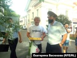 Задержание Алексея Романова в Хабаровске