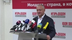 Igor Dodon, primele declarații după închiderea secțiilor de votare