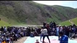 Гуштии миллӣ дар деҳаи Саричашма