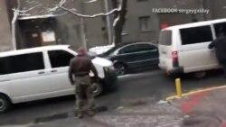 Затримання Саакашвілі у ресторані Києва (відео)