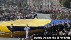 Військовий парад на майдані Незалежності в Києві, 24 серпня 2021 року