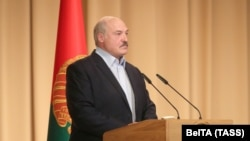 Liderul belarus Aleksandr Lukașenka. 28 iulie 2020