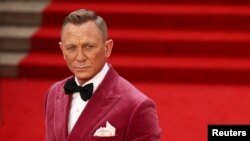 "Daniel Craig, la premiera ultimului film cu James Bond ""No Time To Die"", Royal Albert Hall, la Londra, 28 septembrie 2021."
