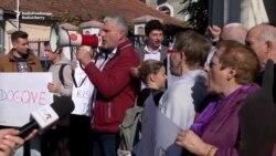 Moldovans Protest Erdogan Visit