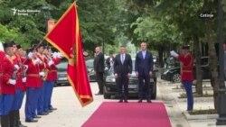 Milanović i Đukanović na Cetinju