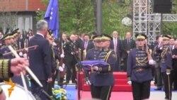Инаугурација на Хашим Тачи во Приштина