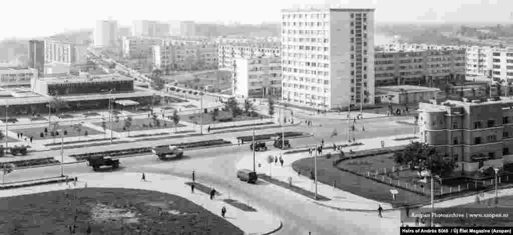 A neighborhood of the eastern city of Galati in 1968
