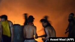 Incendiul de ieri din spitalul Covid nu este primul din Irak.