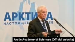 Orsýetiň Arktika akademiýasynyň alymy Waleriý Mitko
