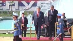Convorbiri Poroșenko-Vucici la Belgrad