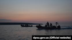Навчання українських прикордонників і бійців ВСУ в Азовському морі