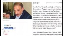 Rauf Mirqədirov erməni kəşfiyyatına işləməkdə suçlanır...