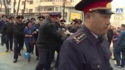 Протесты против Нурсултана