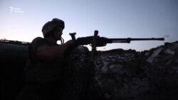 Військовий Денис читає реп на передовій (відео)