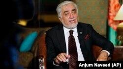 عبدالله عبدالله رئیس شورای عالی مصالحهٔ ملی افغانستان