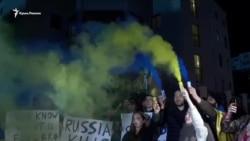 Грузия: активисты поддержали Украину после конфликта в Керченском проливе (видео)