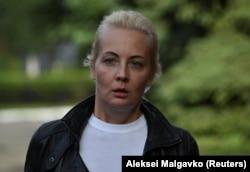 Julija Navaljnaja, supruga Alekseja Navaljnog, 21. avgust, 2020.