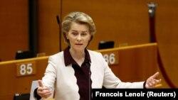 Presidentja e Komisionit Evropian, Ursula von der Leyen. Fotografi nga arkivi.