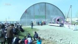 Мигранттар өз айылына спортзал курду
