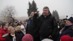 Акция против передачи Исаакиевского собора РПЦ
