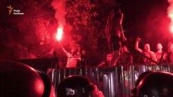 Активісти увійшли на місце забудови у Святошинському провулку (відео)