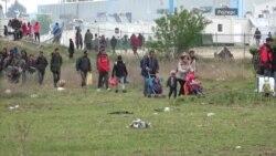 Мигрантите го напуштија привремениот камп на северот на Грција