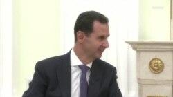 Президент Сирии встретился в Кремле с Владимиром Путиным